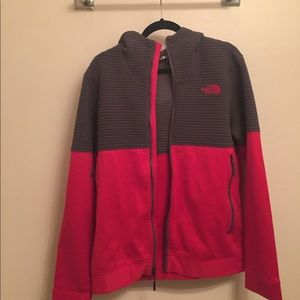 North Face Men's Zip Up Hoodie